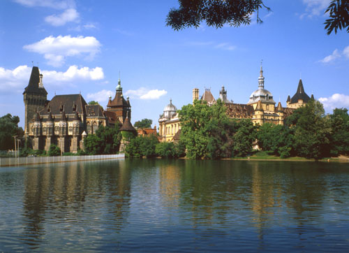 City Park & Vajdahunyad Castle